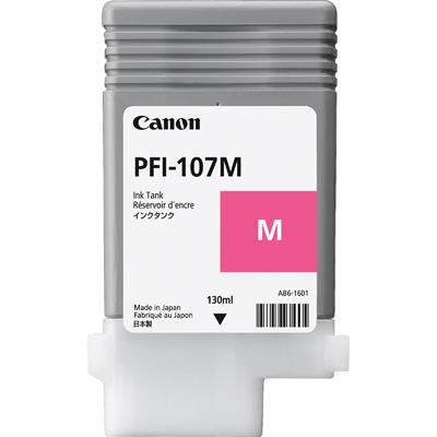 Canon 107M Magenta Original Blækpatron Canon imagePROGRAF IPF 670 | InkNu