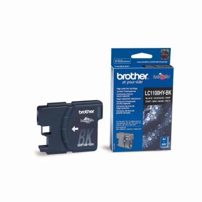 Brother LC-1100HY-BK Black Original Blækpatron Brother DCP 6690 | InkNu