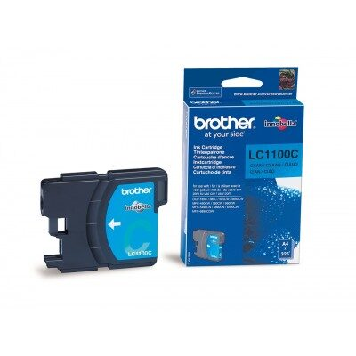 Brother LC-1100HY-C Cyan Original Blækpatron Brother DCP 6690 | InkNu