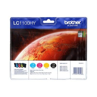 Brother LC-1100HY Valuepack Original Produkt Brother DCP 6690 | InkNu