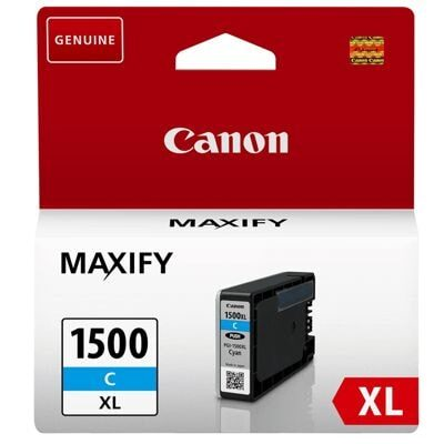 Canon 1500XL C Cyan Original Blækpatron Canon Maxify MB 2050 | InkNu