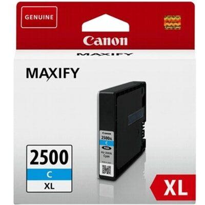Canon 2500XL C Cyan Original Blækpatron Canon Maxify IB 4050 | InkNu