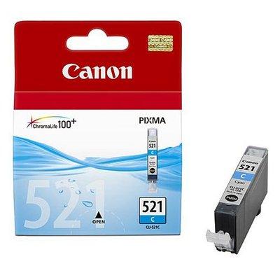 Canon CLI-521C Cyan Orignal Blækpatron Canon PIXMA iP3600 | InkNu