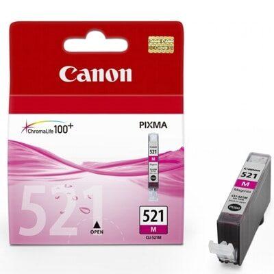 Canon CLI-521M Magenta Original Blækpatron Canon PIXMA iP3600 | InkNu