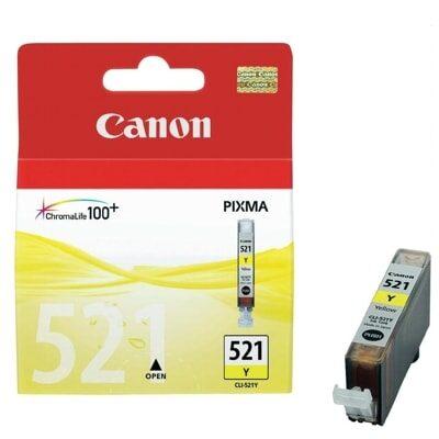 Canon CLI-521Y Yellow Original Blækpatron Canon PIXMA iP3600 | InkNu