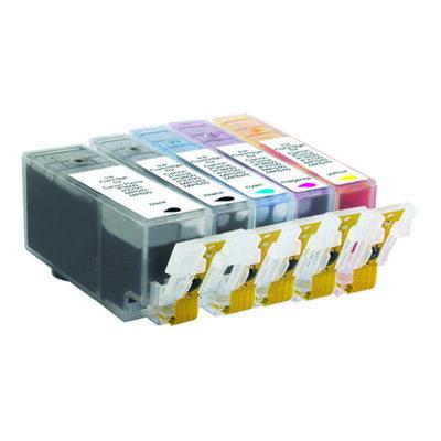 Canon PGI-520BK+CLI-521 10 stk. Kompatibel Multipack – 170ml Canon PIXMA iP3600 | InkNu