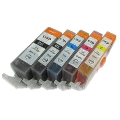 Canon PGI-525XL PGBK+CLI-526XL 5 stk. Kompatibel Multipack – 85ml Canon PIXMA iP4850 | InkNu