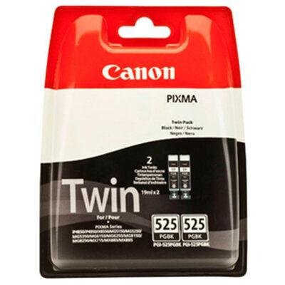 Canon PGI-525PGBK Twinpack Pigment Black Original Blækpatron Canon PIXMA iP4850 | InkNu