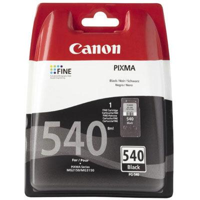 Canon PG-540 Black Original Blækpatron Canon PIXMA TS5150 | InkNu