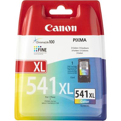 Canon CL-541XL High Yield C/M/Y Original Blækpatron Canon PIXMA TS5150 | InkNu