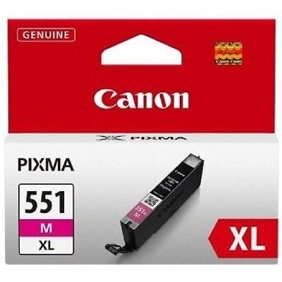 Canon CLI-551XL Magenta Original Blækpatron Canon PIXMA iP7250 | InkNu