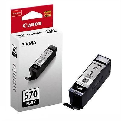 Canon PGI-570PGBK Pigment Black Original Blækpatron Canon PIXMA MG5750 | InkNu