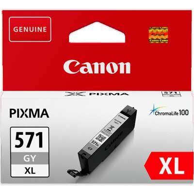 Canon CLI-571XL Grey Original Blækpatron Canon PIXMA MG7750 | InkNu