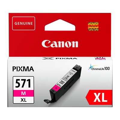 Canon CLI-571XL Magenta Original Blækpatron Canon PIXMA MG5750 | InkNu