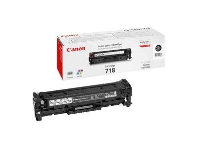 Canon 718BK Black Original Tonerkassette Canon iSensys LBP 7200 | InkNu