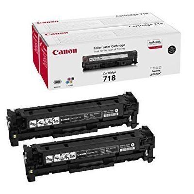 Canon 718BK Twinpack Original Tonerkassette Canon iSensys LBP 7200 | InkNu