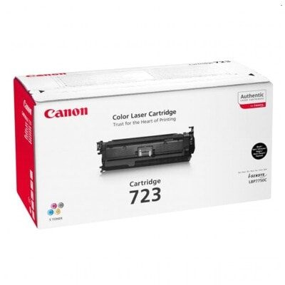 Canon 723BK Black Original Tonerkassette Canon iSensys LBP 7750 | InkNu