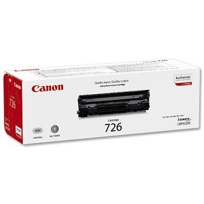 Canon 726BK Black Original Tonerkassette Canon iSensys MF 4410   InkNu
