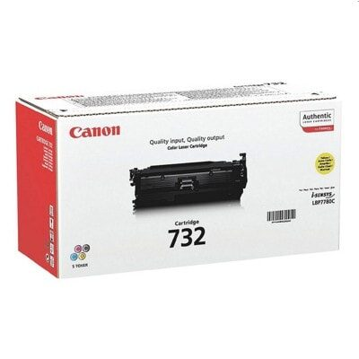 Canon 732BK Black Original Tonerkassette Canon Imageclass LBP 7780 | InkNu