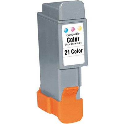 BCI-21CL Farve 13,6ml. Kompatibel Blækpatron Canon BJC 2000 | InkNu