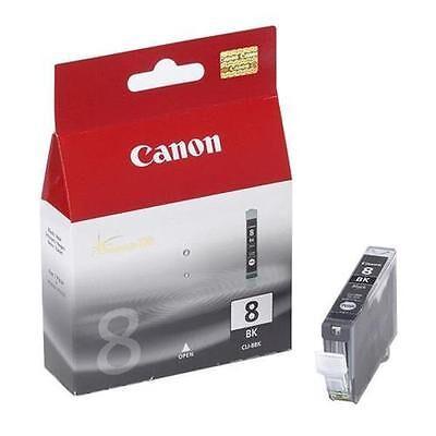 Canon CLI-8BK Black Original Blækpatron Canon PIXMA iP3000 | InkNu