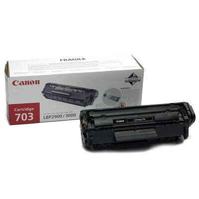 Canon CRT-703BK Black Original Tonerkassette (UDGÅET) Canon iSensys LBP 2900 serie | InkNu