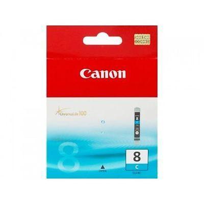 Canon CLI-8C Cyan Original Blækpatron Canon PIXMA iP3300 | InkNu