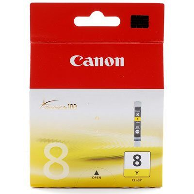 Canon CLI-8Y Yellow Original Blækpatron Canon PIXMA iP3300 | InkNu