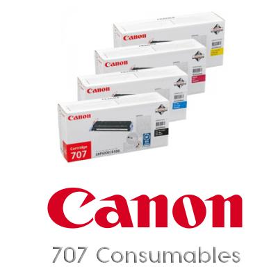 Canon 707C Cyan Original Tonerkassette Canon Laser Shot LBP 5000 | InkNu