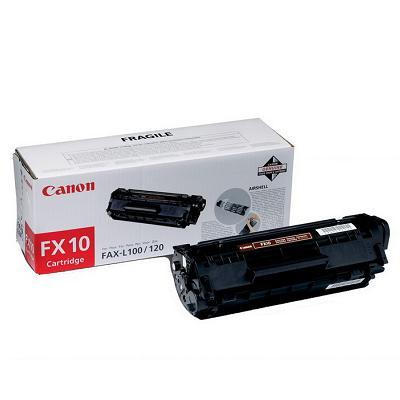 InkNu Canon FX-10BK Black Original Tonerkassette