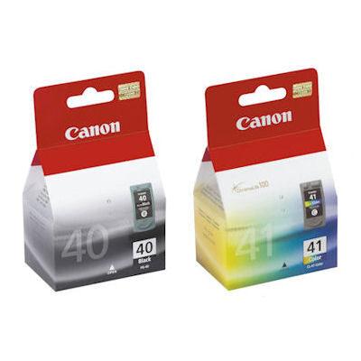 Canon PG-40+CL-41 Multipack Orignal Blækpatroner Canon Fax JX 210 | InkNu