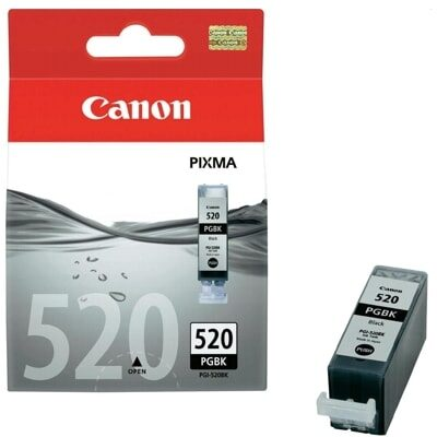 Canon PGI-520BK Black Original Blækpatron Canon PIXMA iP3600 | InkNu
