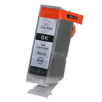 BCI-3eBK Black Kompatibel Blækpatron Canon BCJ 6000 | InkNu