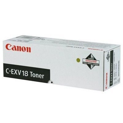Canon C-EXV 18 Black Original Tonerkassette Canon Imagerunner 1018 | InkNu
