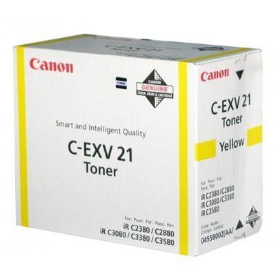 Canon C-EXV 21 Yellow Original Tonerkassette Canon Imagerunner C2550 | InkNu