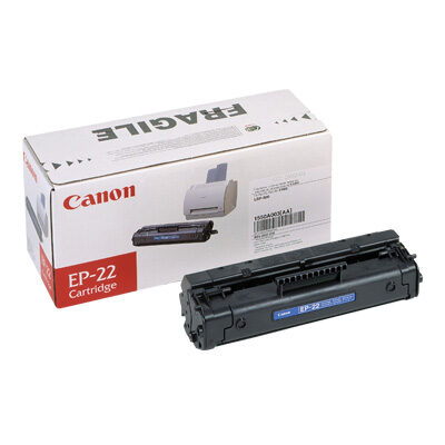 Canon EP-22BK Black Original Tonerkassette Canon Laser Shot LBP 1120 | InkNu