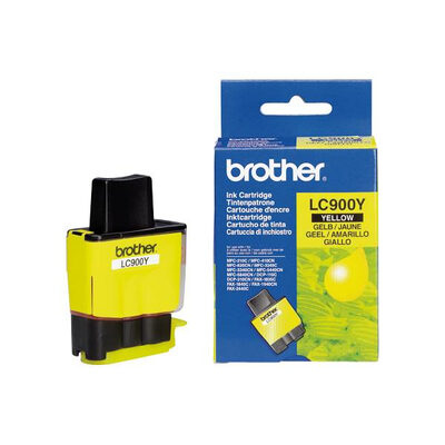 Brother LC-900Y Yellow Original Blækpatron (UDGÅET) Brother DCP 105 | InkNu