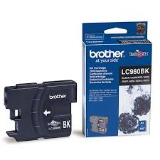 Brother LC-980BK Black Original Blækpatron Brother DCP 145 | InkNu