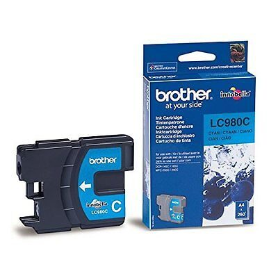Brother LC-980C Cyan Original Blækpatron Brother DCP 145 | InkNu