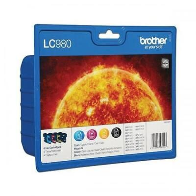 Brother LC-980 Valuepack C/M/Y/BK Original Brother DCP 145 | InkNu