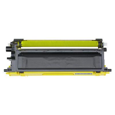 Brother TN-135Y Yellow Kompatibel Tonerkassette Høj Kapacitet Brother DCP 9040 | InkNu