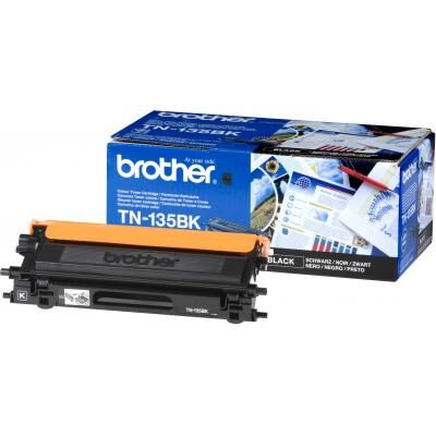 Brother TN-135BK Black Tonerkassette Stor Kapacitet Brother DCP 9040 | InkNu