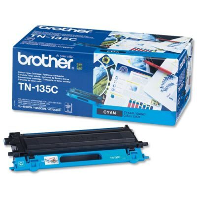 Brother TN-135C Cyan Original Tonerkassette Stor Kapacitet Brother DCP 9040 | InkNu