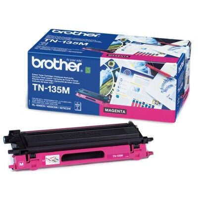 Brother TN-135M Magenta Tonerkassette Stor Kapacitet Brother DCP 9040 | InkNu