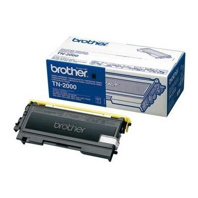 Brother TN-2000BK Black Original Tonerkassette Brother DCP 7010 | InkNu