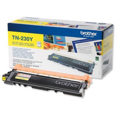 Brother TN-230Y Yellow Original Tonerkassette Brother DCP 9010 | InkNu