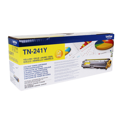 Brother TN-241Y Yellow Original Tonerkassette Brother DCP 9015 | InkNu