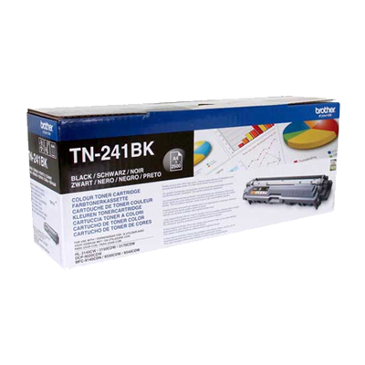 InkNu Brother TN-241BK Black Original Tonerkassette