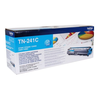 InkNu Brother TN-241C Cyan Original Tonerkassette