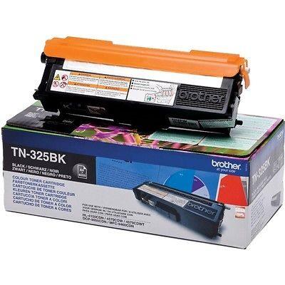 Brother TN-325BK Black Original Tonerkassette Stor Kapacitet Brother DCP 9055 | InkNu